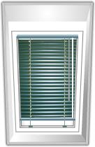 Jalousie für Velux®-Fenster Holz
